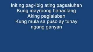mula sa puso by jovit baldivino w/ lyrics