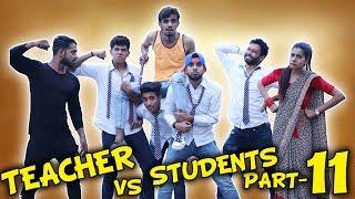 TEACHER VS STUDENTS PART 11   BakLol Video  
