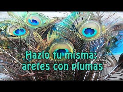Hazlo tu mism@ DIY 15: Aretes de plumas + Pavoreal + Bonus Clip