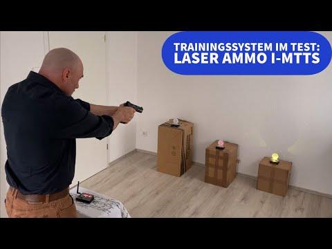 laser ammo: Laser Ammo: Laserbasiertes Trainings-System und Spezial-Laserpatronen mit dem neuen i-MTTS noch einfacher − so trainieren Sie zuhause mit Ihrer Waffe ohne Munition