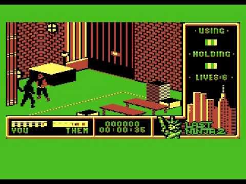 last ninja 2 preview for Atari 8-bit