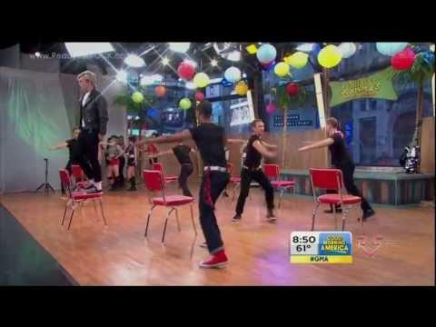 Good Morning America - Teen Beach Movie Cast - Cruisin' For A Bruisin' [HD] (видео)