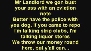 DJ Khaled - Welcome To My Hood [Feat. T-Pain, Rick Ross, Plies & Lil Wayne) (Lyrics)