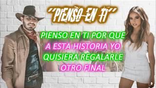 Joss Favela, Becky G   Pienso En Ti (Video Lyrics)
