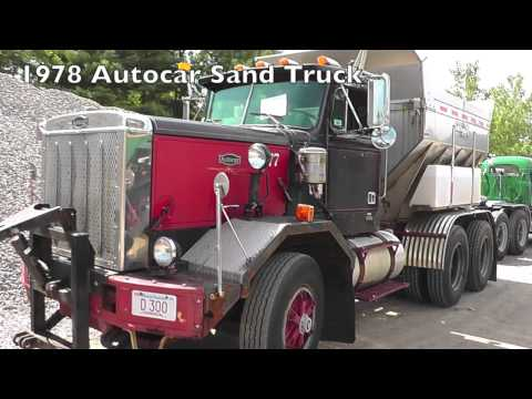 Worcester Sand and Gravel Truck Show, 2013