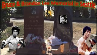Bruce Lee & Brandon Lee Memorial In Seattle | Lake View Cemetery