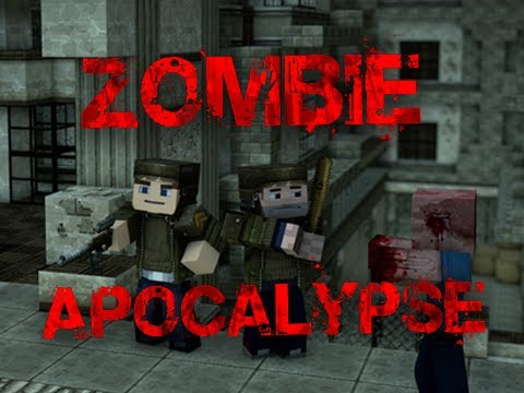 Zombie Apocalypse Adventure Map Minecraft Project - Zombey skin fur minecraft pe