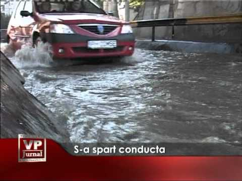 S-a spart conducta