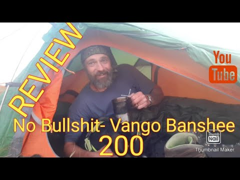 No Bulls**t  Vango Banshee 200 tent Review