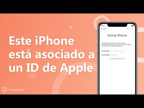 este iphone esta asociado a un id de apple quitar
