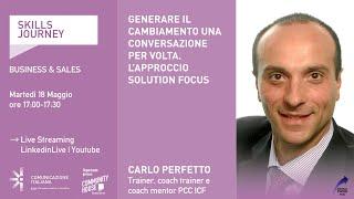 Youtube: Skills Journey | GENERARE IL CAMBIAMENTO UNA CONVERSAZIONE PER VOLTA