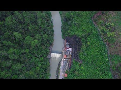 ¿A dónde van los residuos del Río Cahabón?