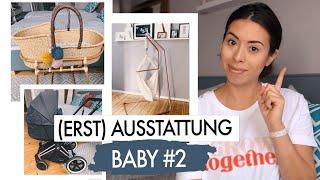 MEINE BABY ERSTAUSSTATTUNG FÜR BABY#2 - CYBEX, FEDERWIEGE, MOSES KORB, COSYME