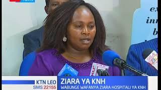 Kamati ya bunge kuhusu afya leo imezuru hospitali kuu ya Kenyatta kuhusu tuhuma za ubakaji kuibuka