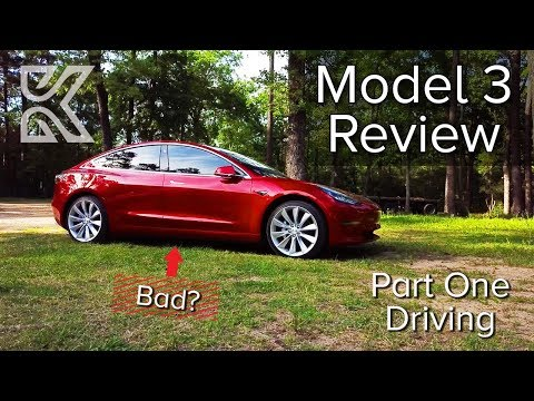 Tesla Model 3 Review | Part One | Driving Performance