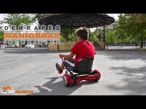 SE RUEDA ROLLER SHOP || Convierte tu Self Balance u Hoverboard en un KART