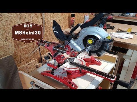 Praxistest - Einhell Zug Kapp Gehrungssäge TC SM 2131 Dual doch mit Laser