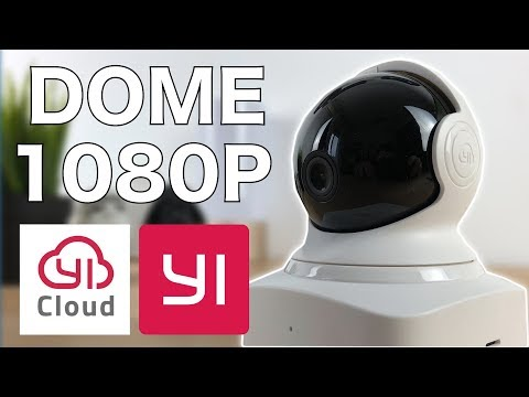 📷 Cámara IP YI-Cloud DOME 1080P - Review | JMramirez