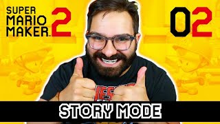 SUPER MARIO MAKER 2 STORY MODE LIVE 02