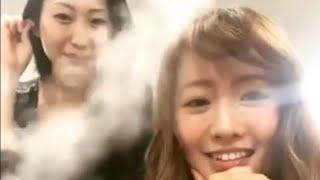 テレビ朝日金曜「ホリデイラブ」で悪魔の里奈を熱演中の松本まりかさんのインスタライブに素っぴん壇蜜さんが登場❤