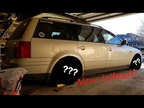 New Wheels For The Passat!