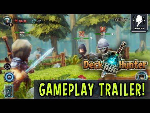 DECK HUNTER -Gameplay trailer