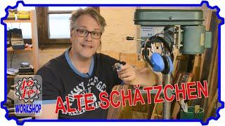 Alte Schätzchen! Neuer Schalter und Drehzahlregelung für die alte Standbohrmaschine