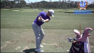 Alex Noren Golf Swing 2017 FO  & DL Super Slo Mo HD