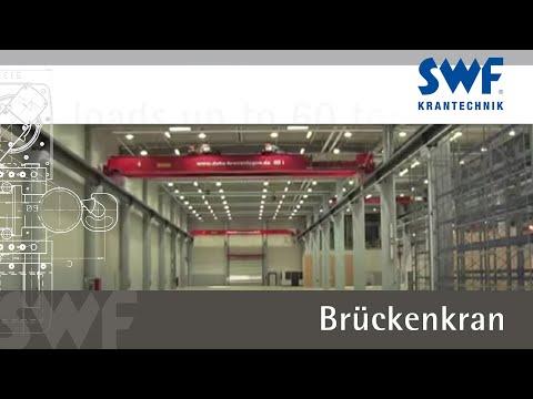 Brückenkran mit 60 Tonnen Tragkraft / Overhead crane for loads up to 60 tons