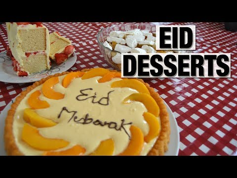 3 QUICK & TASTY EID DESSERT IDEAS | Shamsa