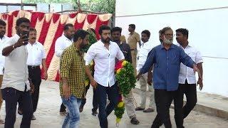 Suriya,Ajith,Vijay Sethupathi on DMK Leader Karunanithi   nba 24x7