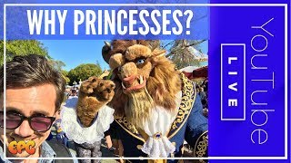 WHY DISNEYLAND PRINCESSES? YOU HAVE THE MAGIC HATERS DON'T