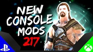Skyrim Special Edition: ▶️5 BRAND NEW CONSOLE MODS◀️ #217 (PS4/XB1/PC)