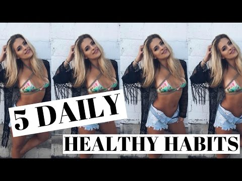 Video FIT For Summer | 5 Daily Tips To Stay Healthy