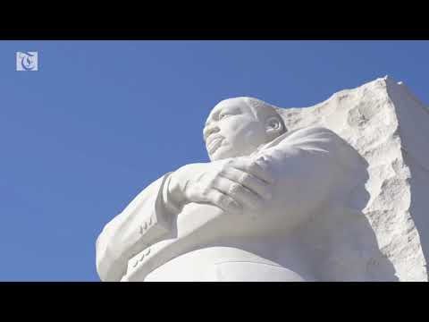 President Trump and VP Pence visit MLK Jr. memorial