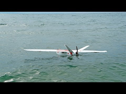 Commercial grade AMPHIBIAN fixed wing drone