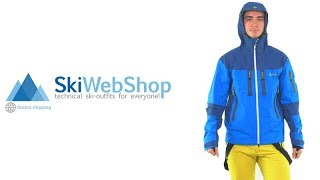 Kilpi, Hastar, hardshell ski jacket, men, blue