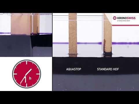 Khả năng siêu chịu nước của sàn gỗ Kronoswiss phần 2