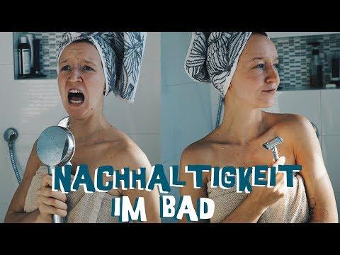 Der Versuch einen Rasierhobel richtig zu benutzen -  Nachhaltigkeit im Bad