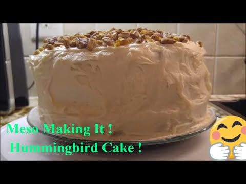 How to Make The Best Old Fashioned Southern Hummingbird Cake