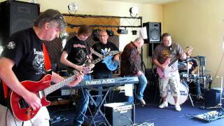 The Kommotion jam band playing Michael Schenker Group - On and On.avi