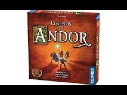 CAG Reviews FFG/ Kosmos Legends of Andor