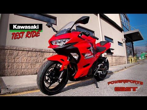 2022 Kawasaki Ninja 400 ABS KRT Edition in Bear, Delaware - Video 1