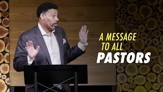 A Message to Pastors from Tony Evans