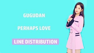 GUGUDAN - Perhaps Love Line distribution