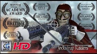 "CGI **Award-Winning** 3D Animated Short : ""The JockStrap Raiders"" - by Mark Nelson | TheCGBros"