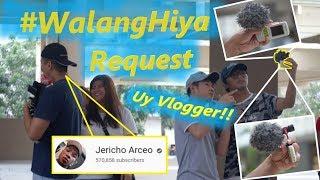 "#WalangHiya Request ""Mag VLOG gamit De-Keypad na Phone"" (Prank) | Pranking Jericho Arceo"