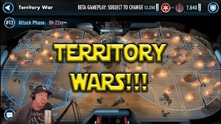Star Wars: Galaxy Of Heroes - Territory Wars!!!!  How To Get Banners & ZETAS!