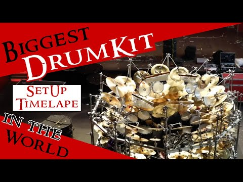 Building the Biggest Drumkit of the World