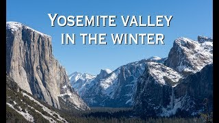 8 Things to do in Yosemite Valley in the Winter